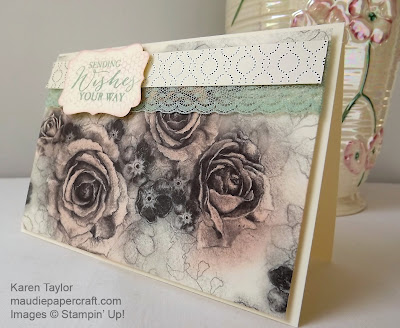 Stammin' Up! Timeless Elegance card