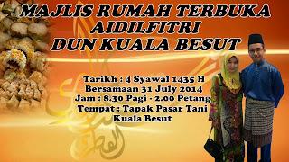 Majlis Rumah Terbuka Dun Kuala Besut|tengku zaihan