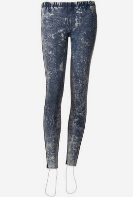 leggings Calzedonia primavera verano 2014 denim degradado