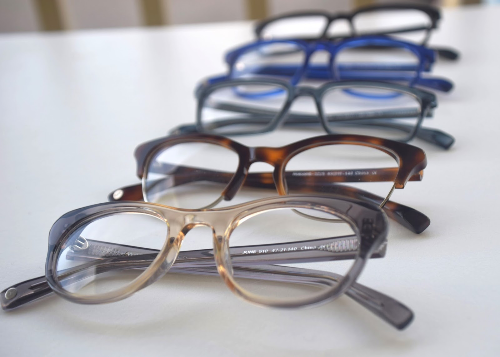 Warby Parker Home Try-On glasses