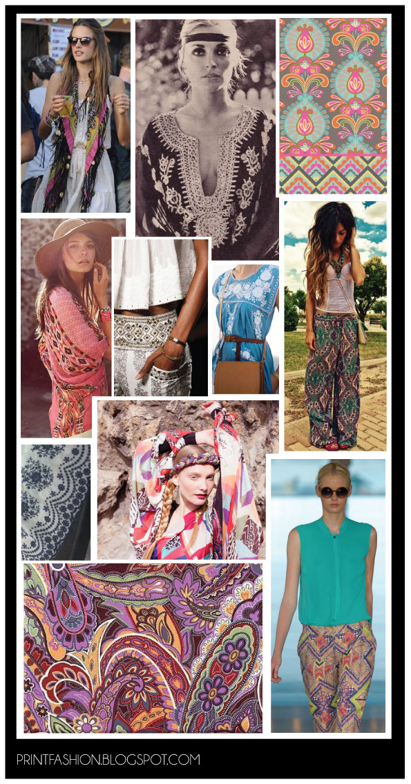 Boho fashion trend