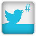 Twitter follow badge widget