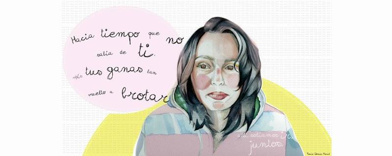 Ilustración colorista de Rocío Gómez