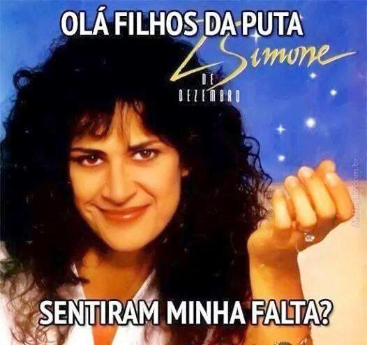 o O Botafogo já tá na Segundona e não sei se resisto à Simone no Natal