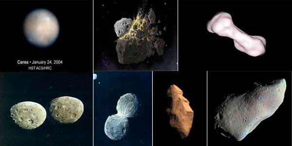Inilah Tujuh Asteroid Terunik di Tata Surya