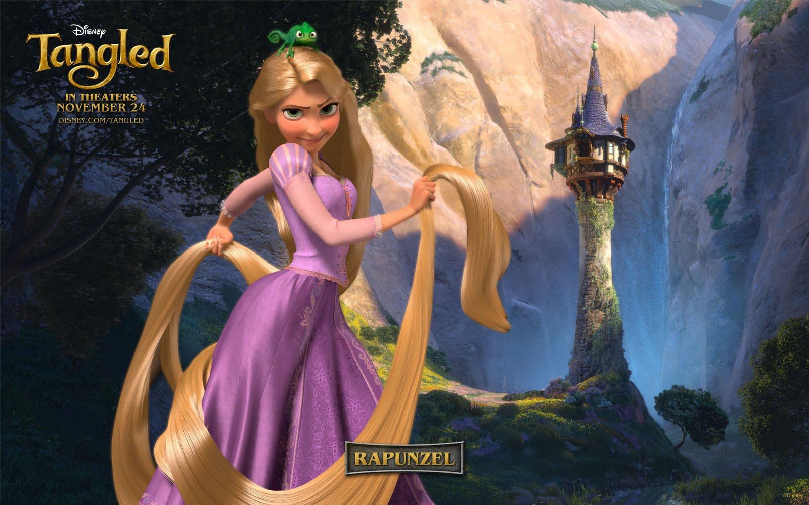 Olivia Carroll Rapunzel Wallpaper