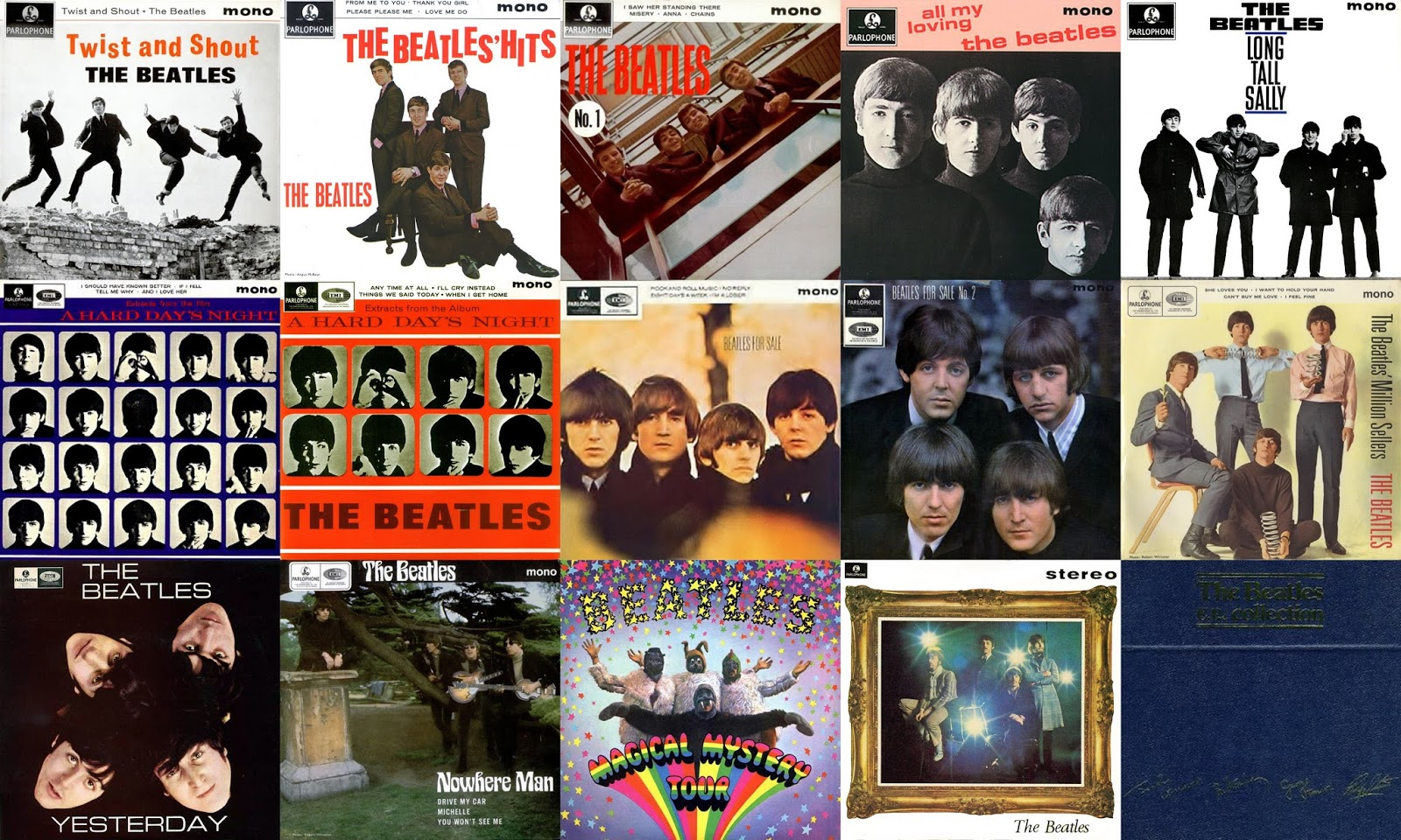 The Beatles discography  Wikipedia