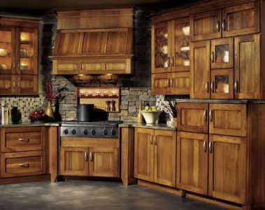 Rustic kitchen cabinets pictures furniture design for Kitchen cabinets rustic