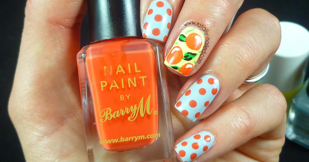 Fruity Spotty Nail Art   Totally Nailed