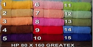 handuk greatex terry towel