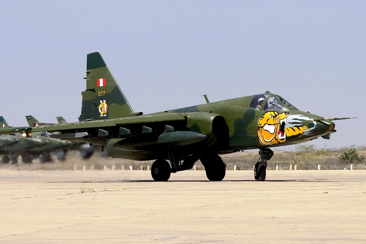 Sukhoi Su-25 Frogfoot Wallpaper 4