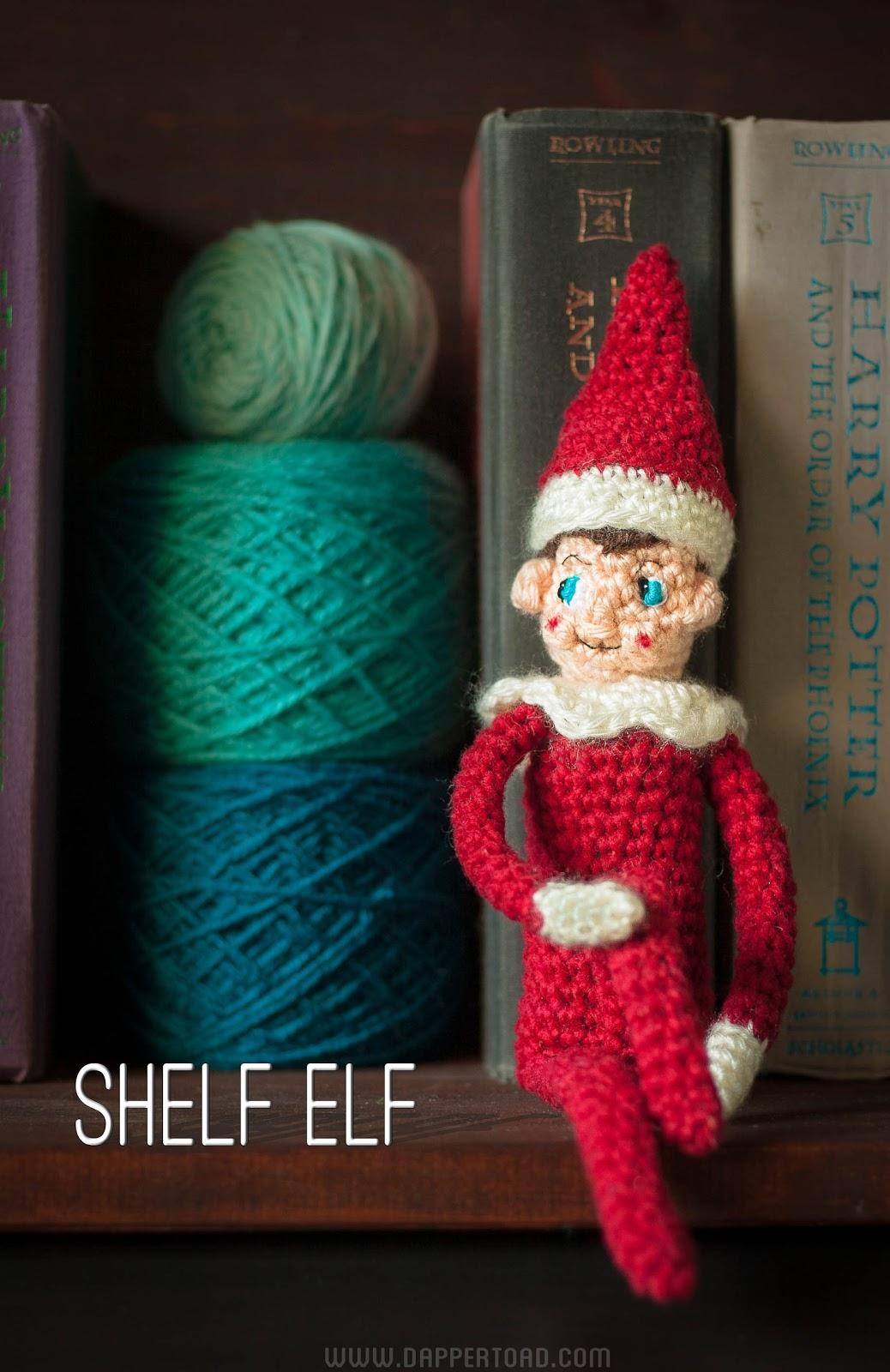 Free Knitting Pattern For Elves : The Dapper Toad: Sh(elf): Free Crochet Pattern