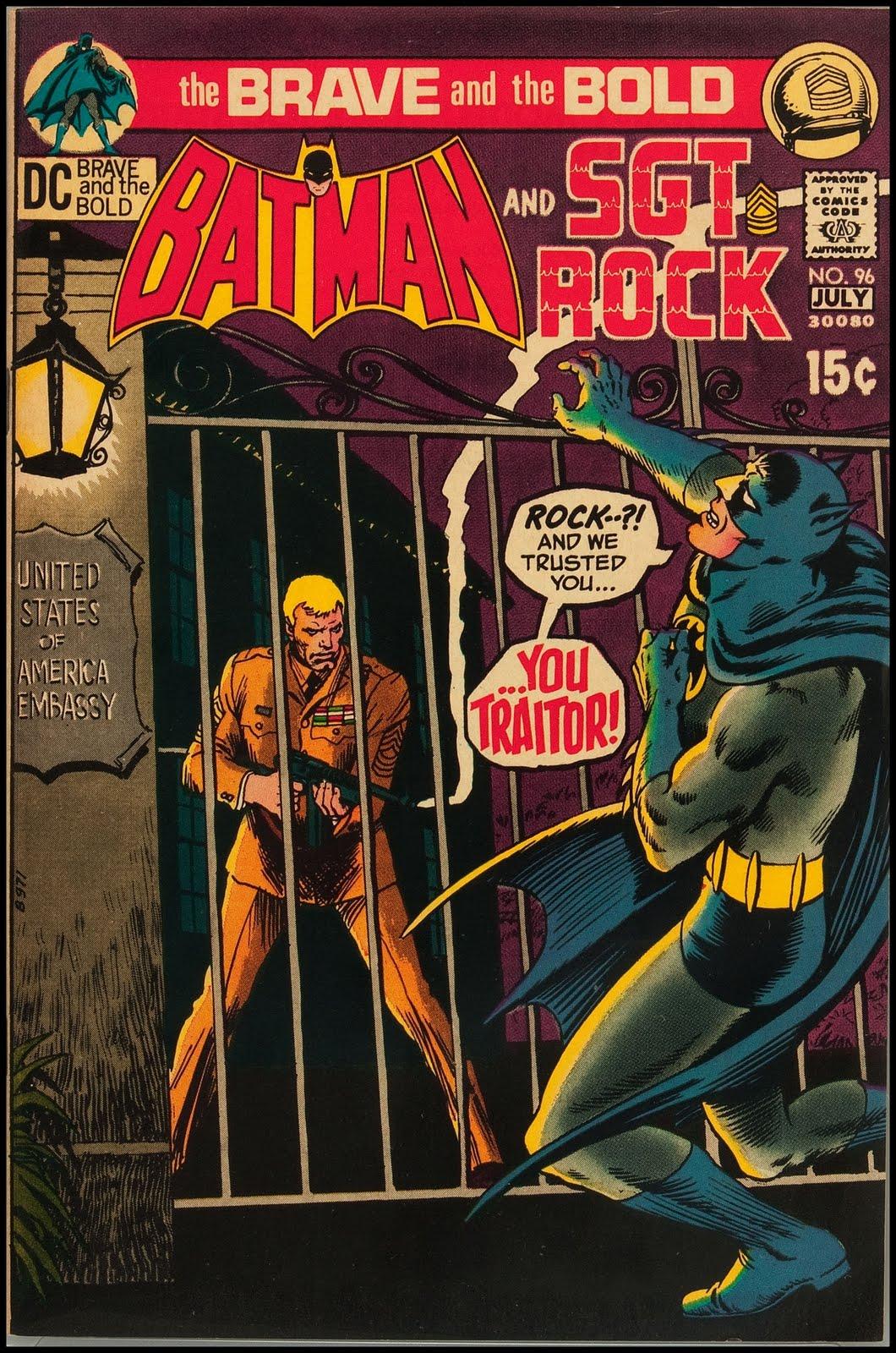 fantasy ink  batman and sgt  rock