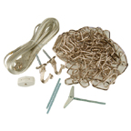 Swagging A Chandelier Or Hanging Light Fixture Uses A Simple Swag Kit That  Is Available At Both The Home Depot And Loweu0027s.
