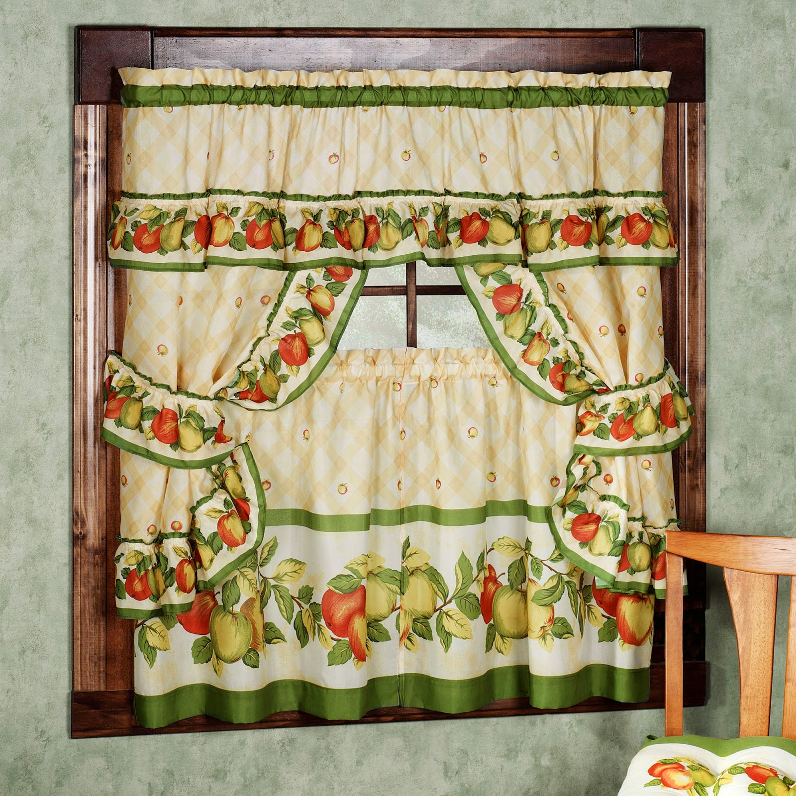 Curtain Ideas Retro Kitchen Curtains And Valances