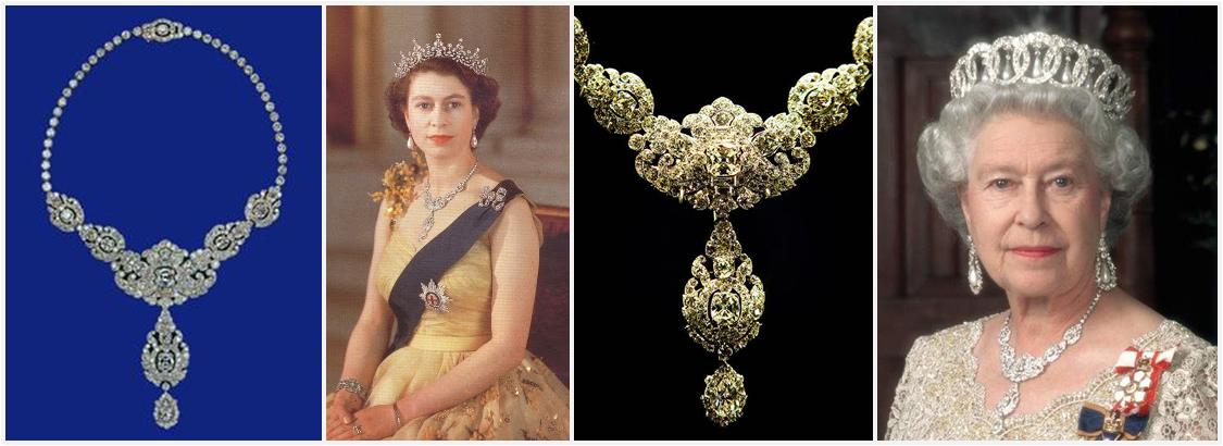 Nizam of Hyderabad Necklace by Cartier for Queen Elizabeth