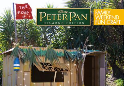 Peter pan Fort #PeterPanDiamond