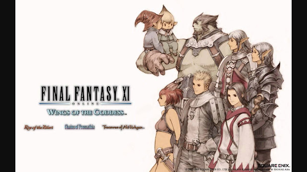 Download Final Fantasy XI Online Wings Of The Goddess PS2 ( ISO )