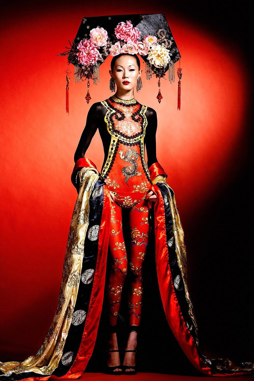 Body Painting Geisha 2014
