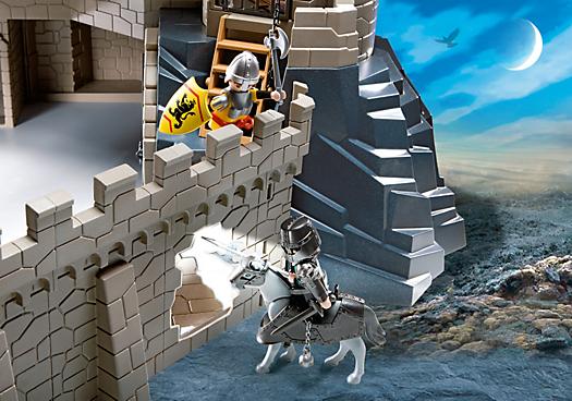 Playmobil ref 4865 boite ch teau fort des chevaliers for Playmobil 4865 prix