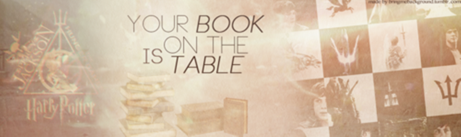 Your Book Is On The Table