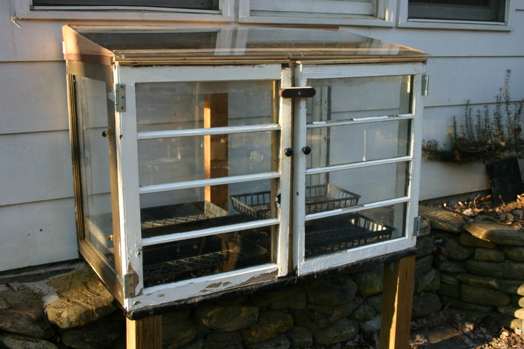 The TeaShanty Repurposed Window Cold Frame