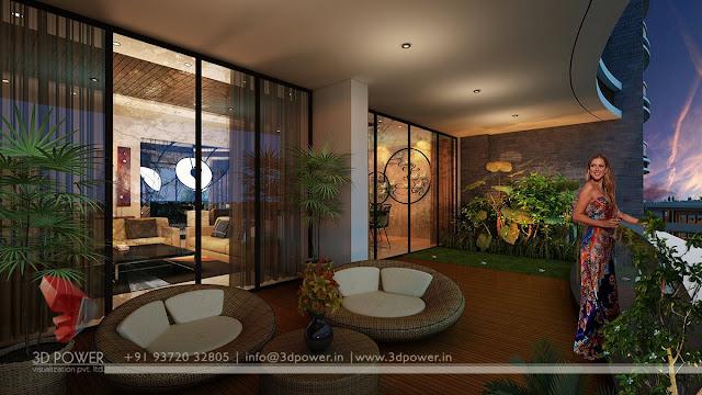 bungalow living room Visakhapatnam
