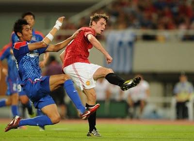 Nick Powell in Pre-season Match - [Man Utd Tour 2012]