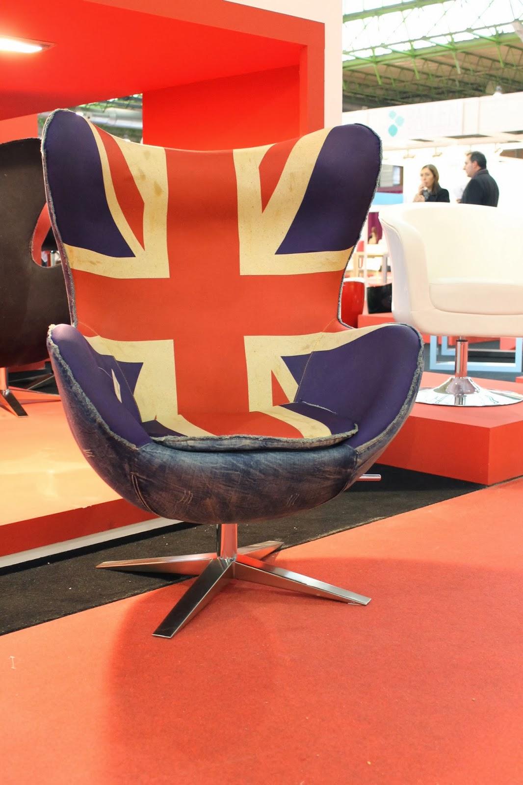 Sillón Egg British, Arne Jacobsen.