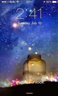 iOS 8 Firefly Locker Full İndir
