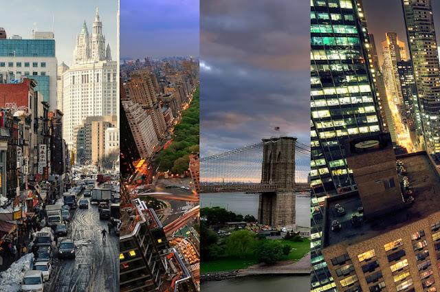 Increíbles imágenes de new york