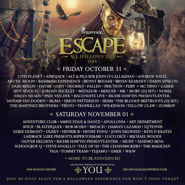 Escape From Wonderland 2014