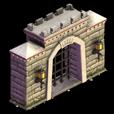 Castleville Sturdy Castle gate