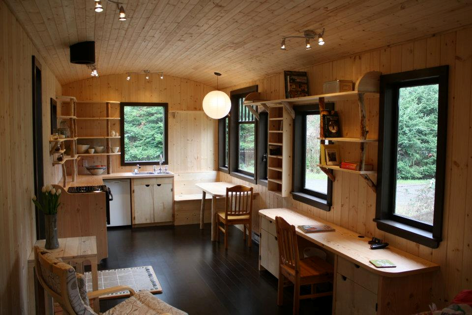 Tiny house love on pinterest tiny house interiors tiny for Small house interior