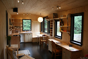 A beautiful tiny house interior