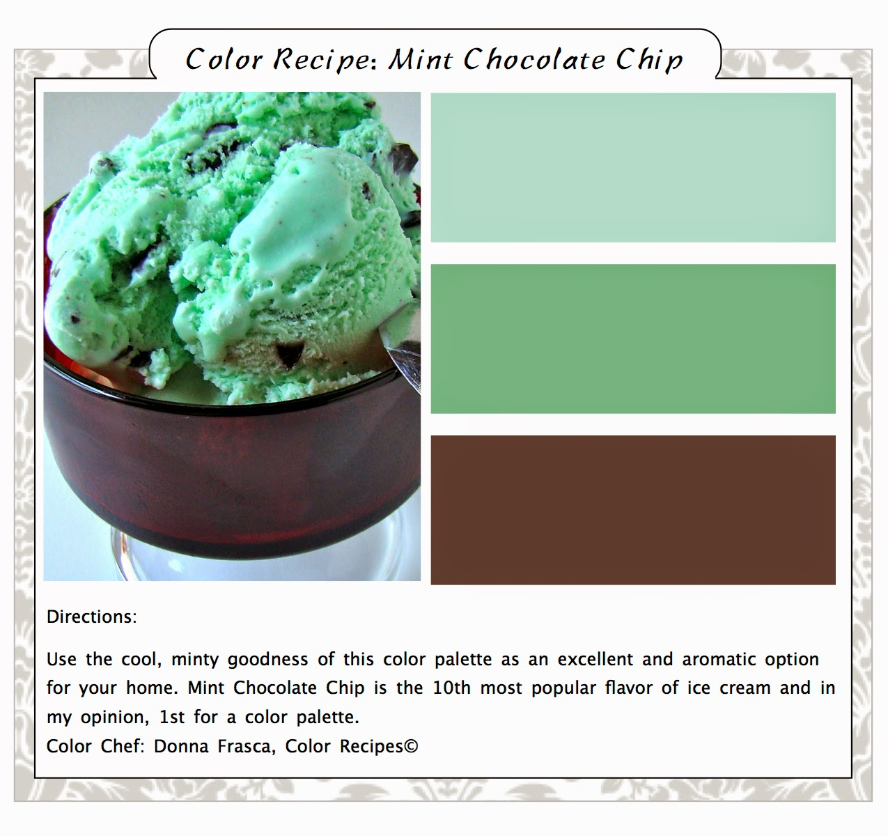 come brush up on your mint green color palette - Mint Green Color Scheme