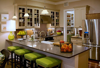 Western Kitchen Design: Lighting up a Western Kitchen | Stylish ...