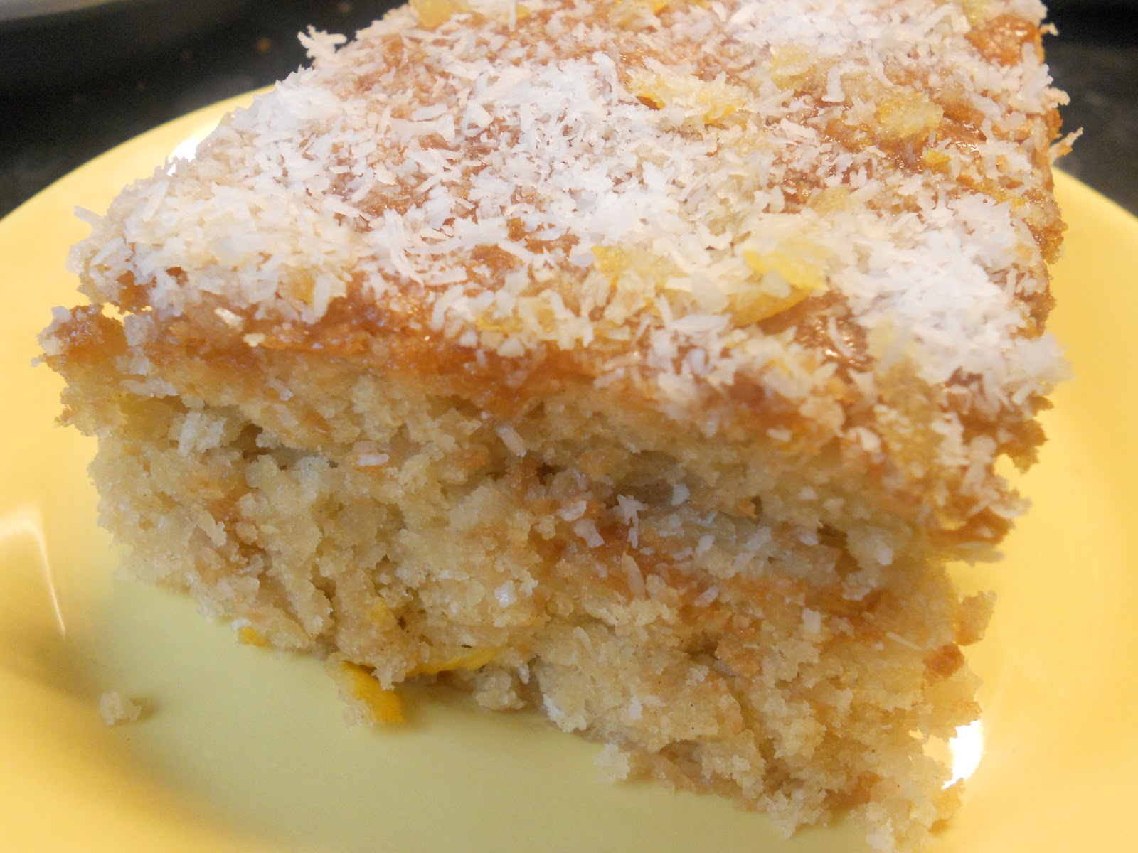The Yogi Vegans: Lemon and Coconut Squares- vegan