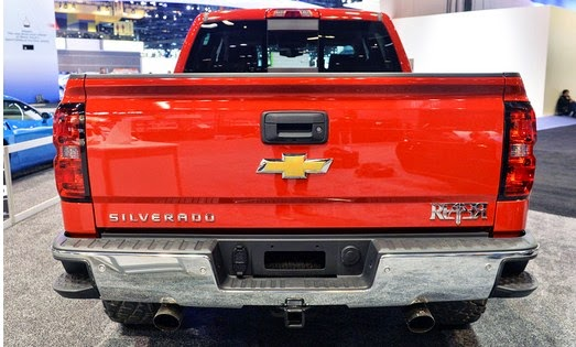 2015 Chevrolet Reaper Rear View