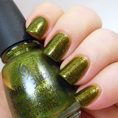 China Glaze Zombie Zest swatch