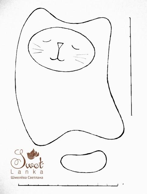 выкройка кота