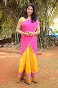 kruthika jayakumar half saree stills-thumbnail-1