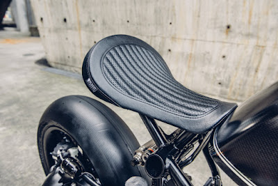 BMW R9T Solo Seat by Rough Crafts