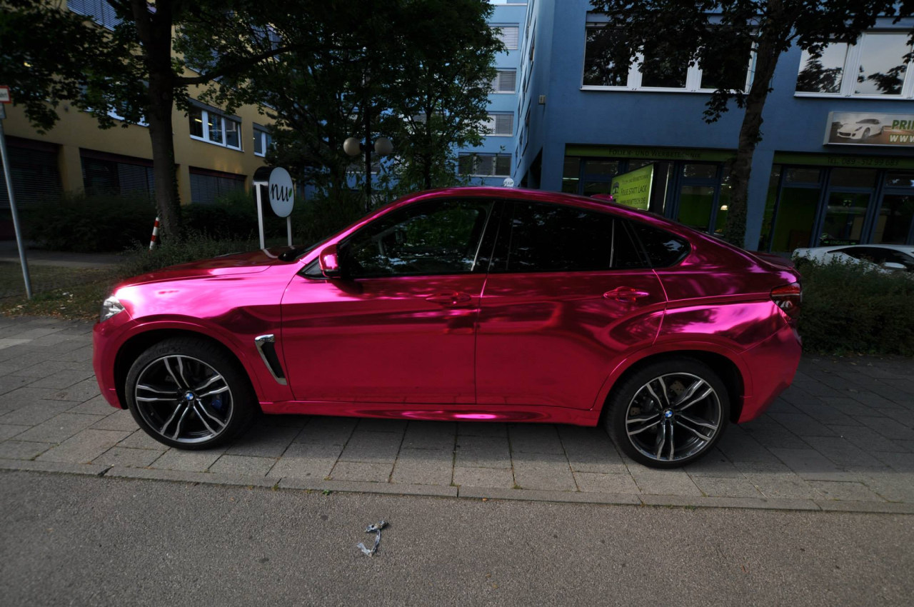 What On Earth Would Make You Want To Wrap Your New Bmw X6