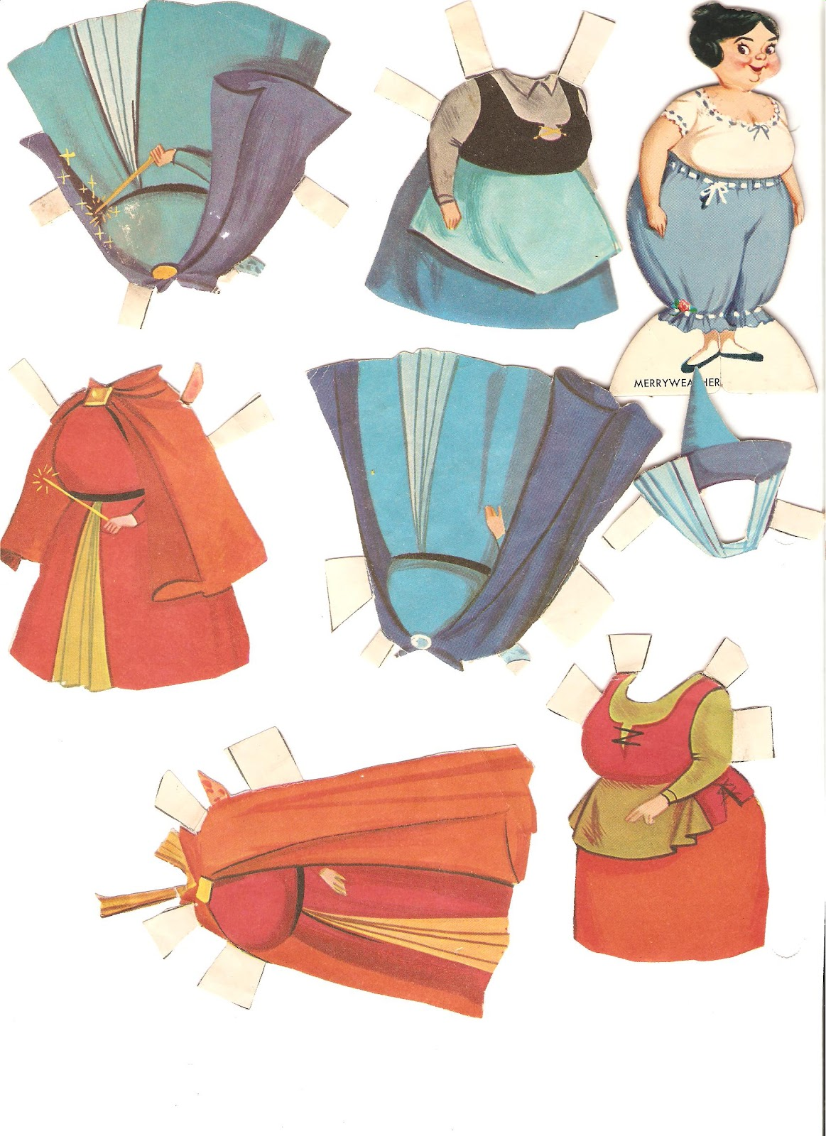 Miss Missy Paper Dolls: Disney Sleeping Beauty Paper Dolls