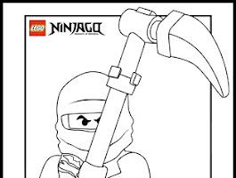 Lego Ninjago Sensei Wu Coloring Pages