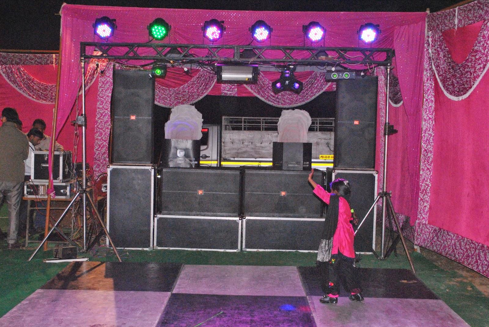 YASH DJ SETUP AND LIGHT DECORATION