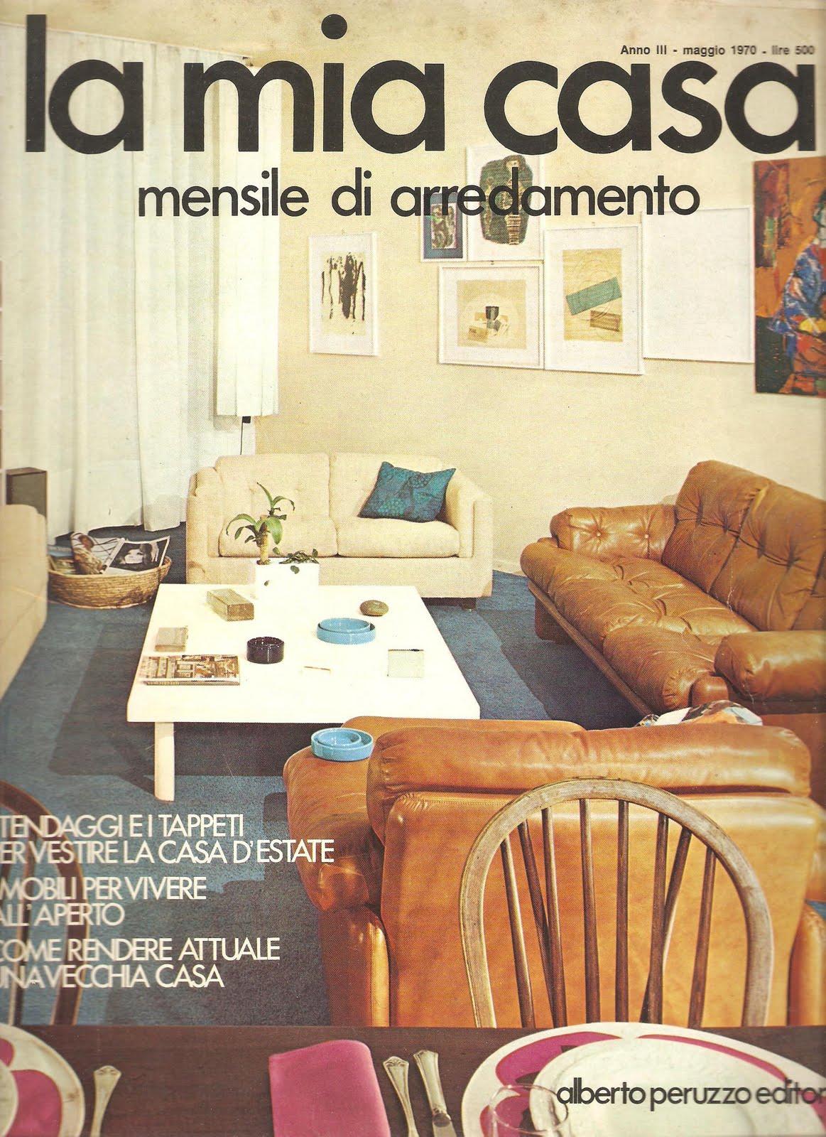 Hung up on retro la mia casa magazines for Casa magazine