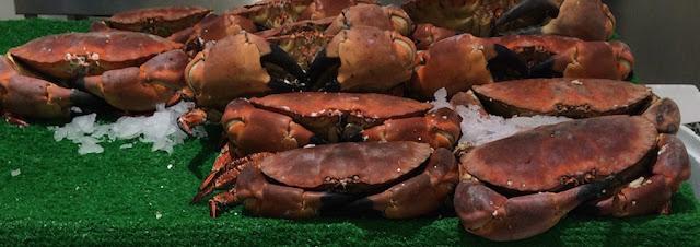Billingsgate Market crab
