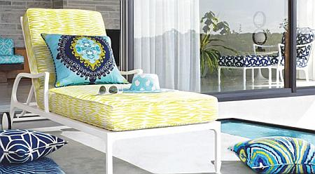Charming Indoor/outdoor Fabrics From Trina Turk | The Designer Insider